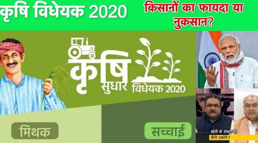 Agriculture Bill 2020 In Hindi