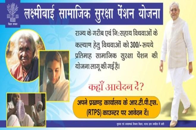 Bihar Lakshmibai Samajik Suraksha Yojana